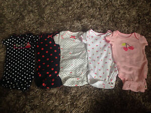 Newborn girls lot