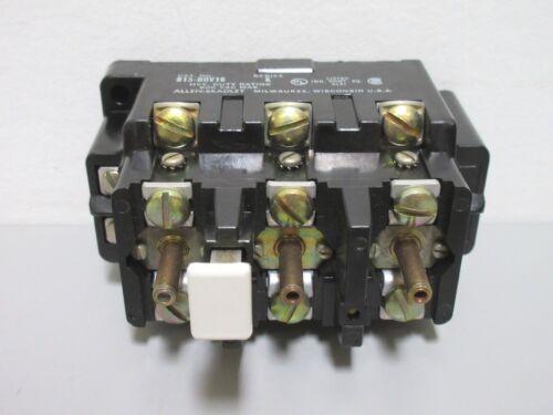 New Allen-Bradley 815-BOV16 Series K Overload Relay