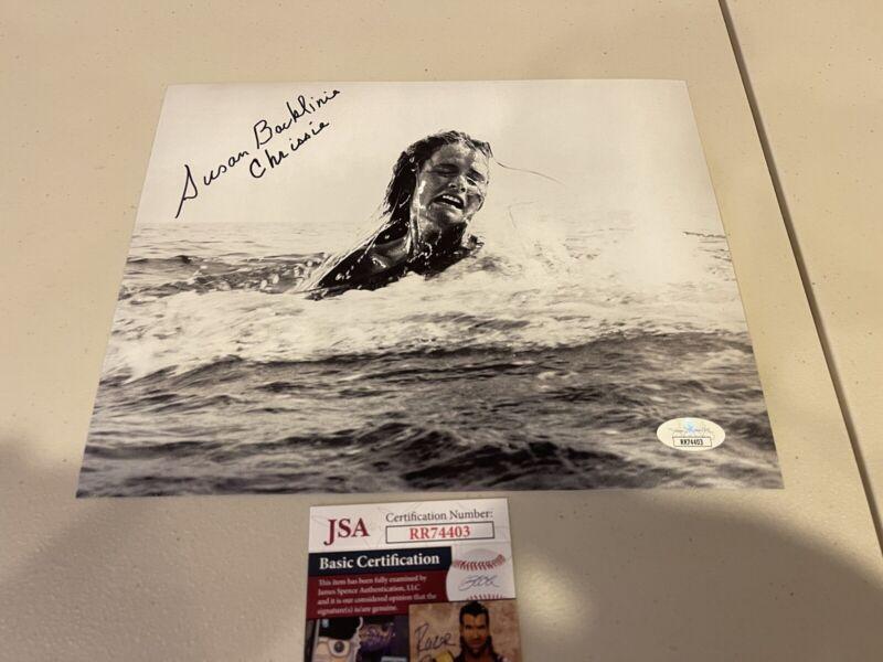 Autographed Susan Backlinie Signed 8x10 Photo Jaws Movie Shark Chrissie Jsa Coa
