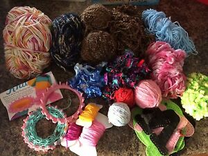 Lots and lots of random yarn