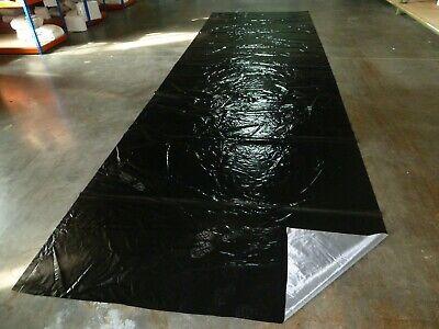 Abdeckplane Folie PVC LKW 7,3m x 2,15m ca.280g/m² Schwarz  B Ware