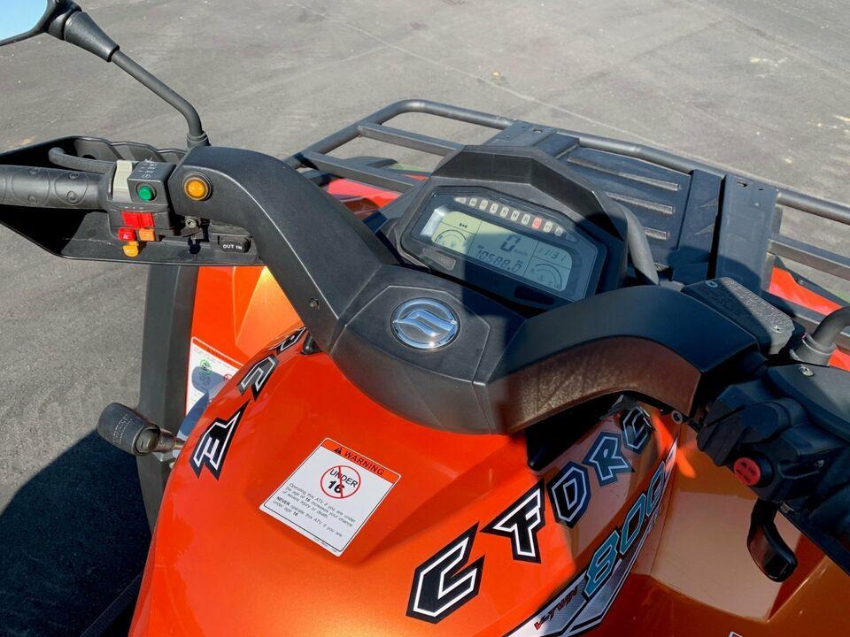 EXPORT CFMOTO CF MOTO C-Force 800 4x4 ATV Quad in Eging am See