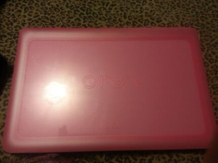 Sony viao pink laptop Weston Cessnock Area Preview