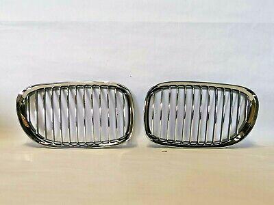 Front Kidney Grille Left Right Fit BMW 740i, 750i  51117184151, 51117184152