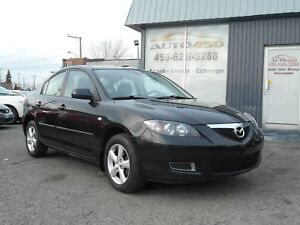 MAZDA 3 2008 ***MAGS,AIR CLIMATISE***