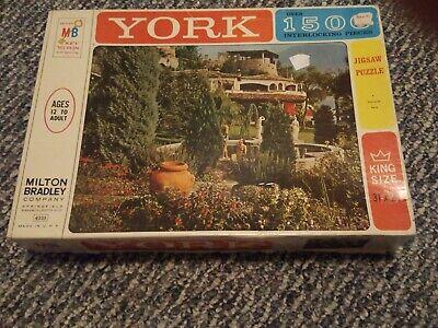 Vintage 1963 Milton Bradley York  1500-Piece Jigsaw Puzzle 4335 Valsolda, Italy