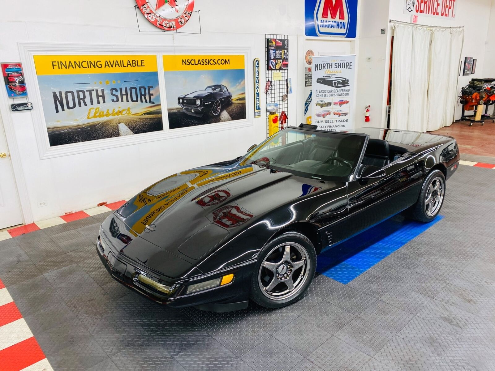1992 Black Chevrolet Corvette   | C4 Corvette Photo 1