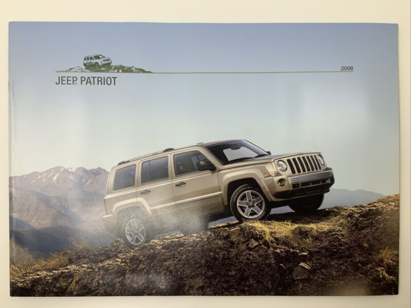 2008 Jeep Patriot Brochure