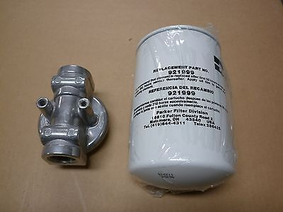 Parker Hydraulic Filter Part 304675 12at 10c N 15bbn Wmount Nosnib