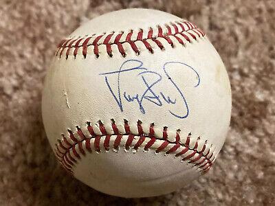 NY Mets Darryl Strawberry Hand Signed Autographed Baseball National League Ball Ny Mets Home Baseball