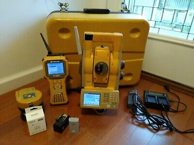 Topcon Gts 905a Robotic Total Station Complete Setup