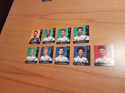 rewe Fußball WM Sticker Konvolut 4, 5, 6, 8, 13, 14, 18, 23, 26, neu (Fußball-wm-sticker)