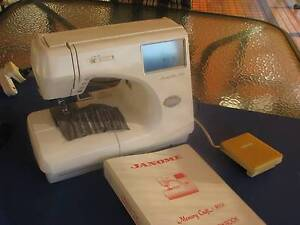 Janome Memory Craft 9000 not working properly.  Parts or Repair Kotara Newcastle Area Preview