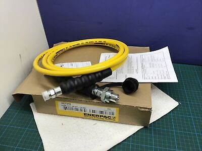 Enerpac Hc7210 Hydraulic Hose 10ft 38 Npt With Ch604 New
