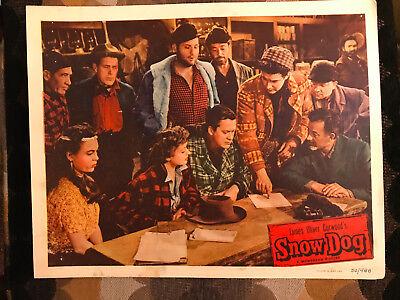 Snow Dog 1950 Monogram lobby card Kirby Grant Elena Verdugo