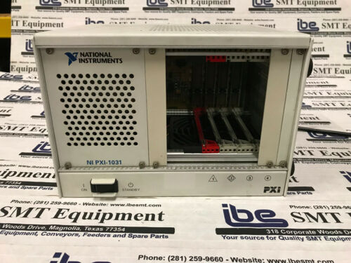 National Instruments PXI-1031 4-Slot Chassis With Warranty!!