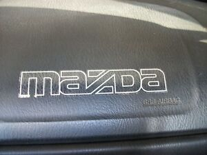 90-92 MAZDA MIATA FRONT BUMPER MAZDA STICKER/LOGO, NEW, 6 COLORS AVAILABLE