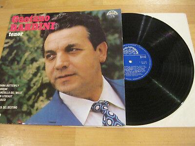 LP Gaetano Bardini Tenor Operatic Recital Vinyl Supraphon CSSR 1 12 1158