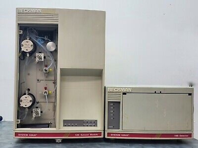 Beckman Hplc System Gold - 128 Solvent Module 168 Detector