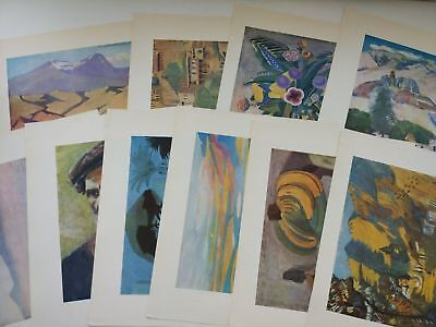 Martiros Saryan museum, 10 PLATES, Armenian artist painter, Art album, USSR for sale  Shipping to United States