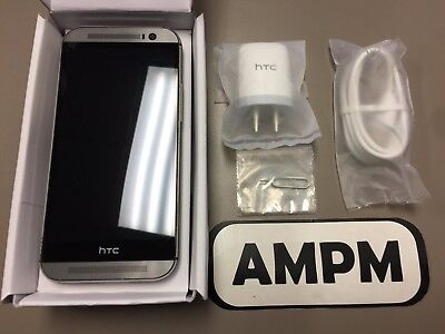 NEW HTC One M8 32GB AT&T T-Mobile 4G Global GSM Unlocked Windows Open Box