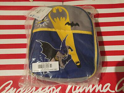 Hanna Andersson Batman Insulated Lunch Tote Bag New](Batman Bag)