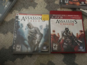 Assassins creed 1 and 2 PS3