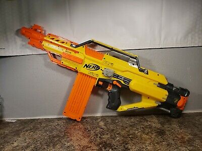 Nerf Stampede ECS N-Strike Automatic Blaster Dart Gun Battery Power continuous