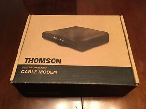Modem cable Thomson dcm475