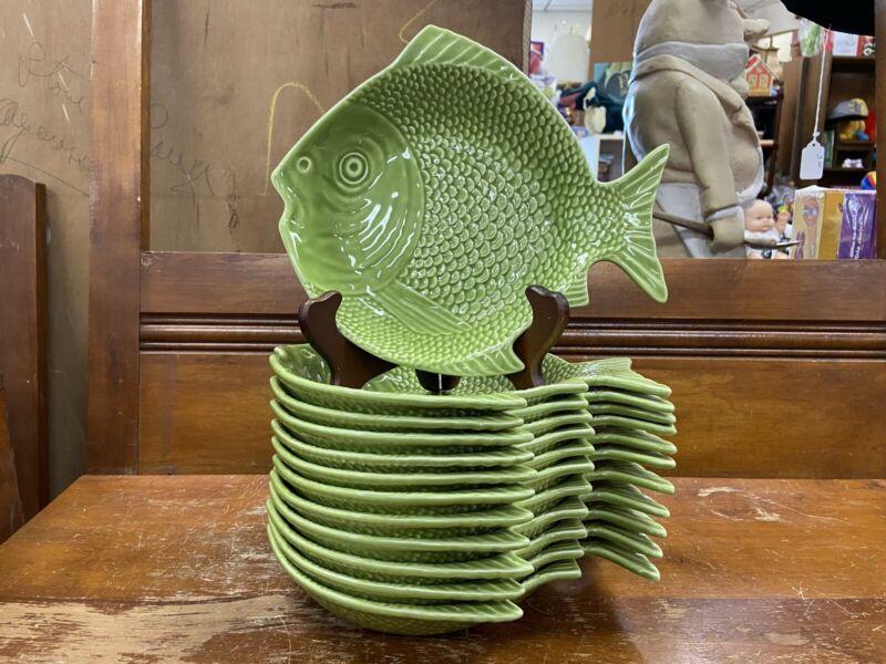 Bordello Pinheiro Fish Bowls Green Set Of 12