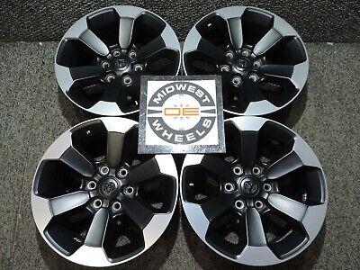 """2019 2020 Dodge Ram 1500 REBEL 18"""" BLACK Factory OE Wheels  NEW TRUCK TAKE OFFS"""