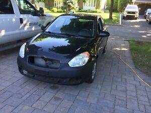 Hunday accent 2008 manuel a vendre! 224000km