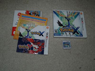 Pokemon X (3DS, 2013) complete