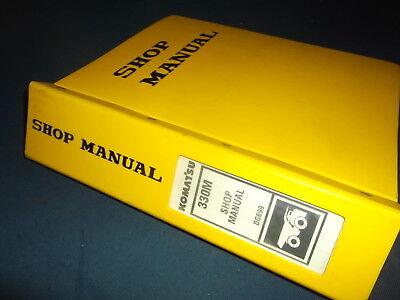 Komatsu 330m Dump Truck Service Shop Repair Book Manual Sn Bfp41-ae And Up