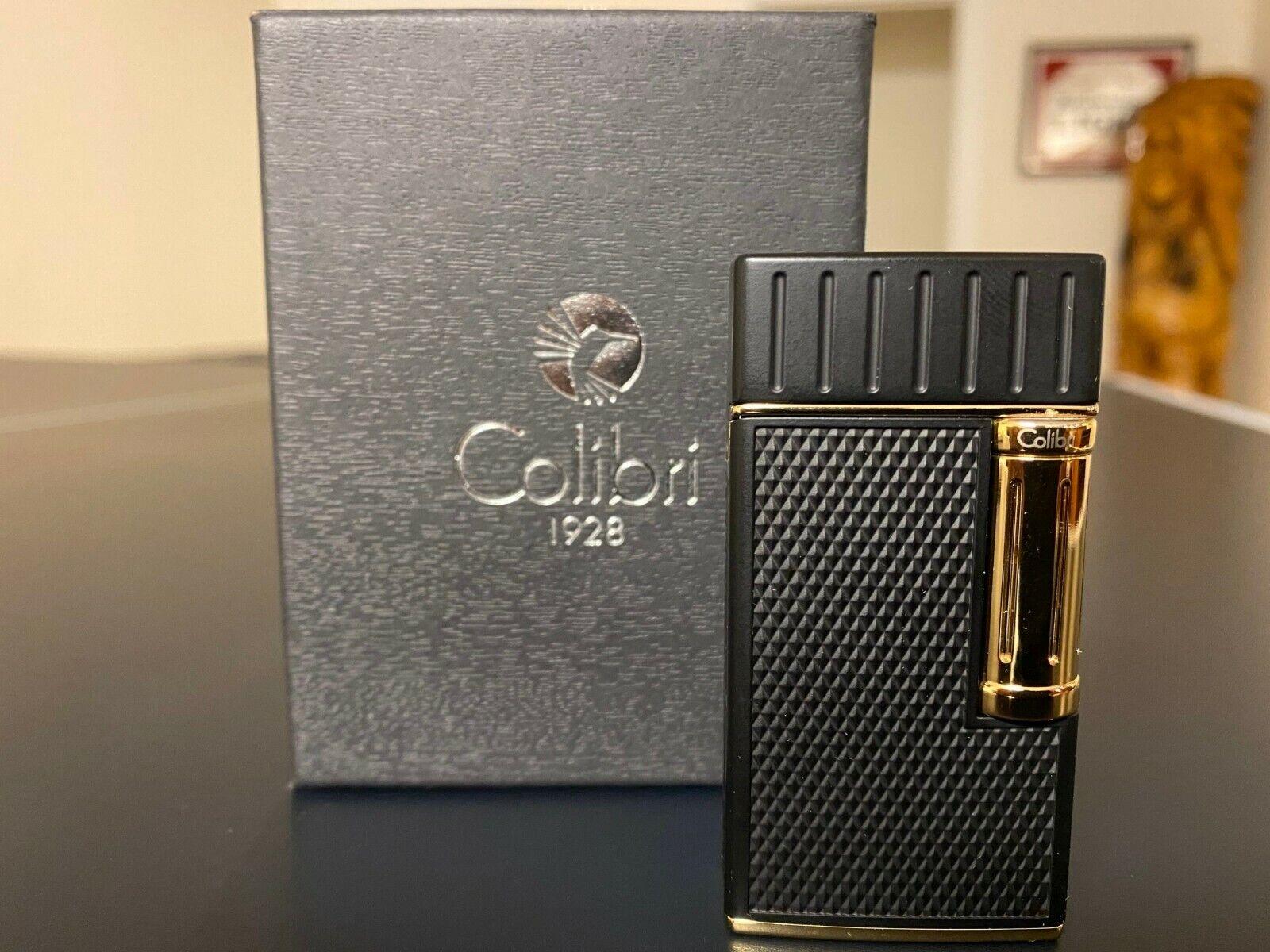 Colibri Julius Flint Double Soft Flame Cigar & Pipe Lighter