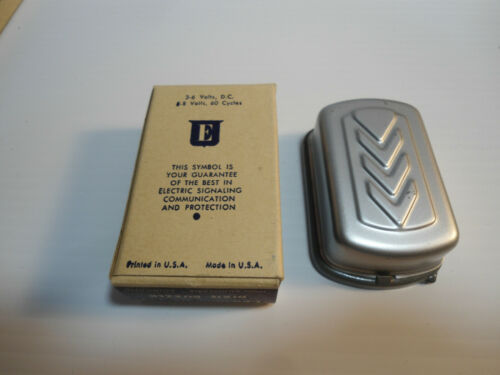 VINTAGE  EDWARDS DIXIE BUZZER No. 725 NOS