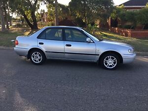2001 Toyota Corolla AE11 Ascent Automatic 4months Rego Liverpool Liverpool Area Preview