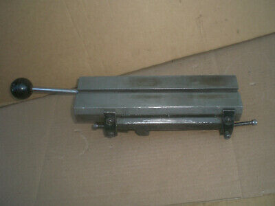 Hardinge Model E Lever Cross Slide