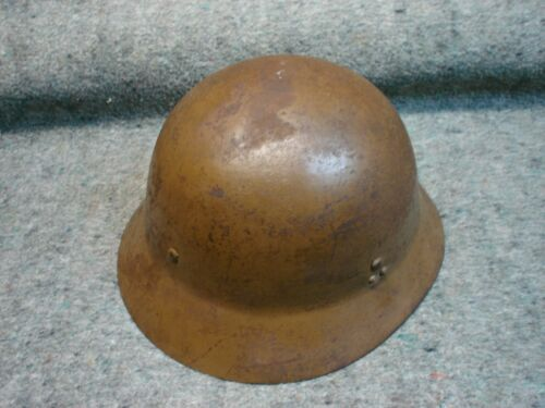 WWII Japanese Civil Defense Steel Helmet, not Type 99 LMG