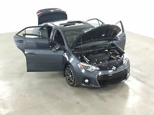 2014 Toyota Corolla S Cuir*Toit*Mags*Camera Recul*Sieges Chauffa