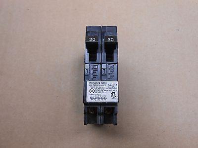 1 New Murray Mh-t Mp3030 Tandem Circuit Breaker 30-30a 30-30 Amp 240v 240 Volt