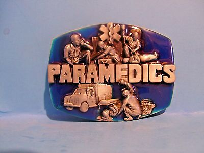 Paramedic belt buckle Rescue Free Shipping in USA