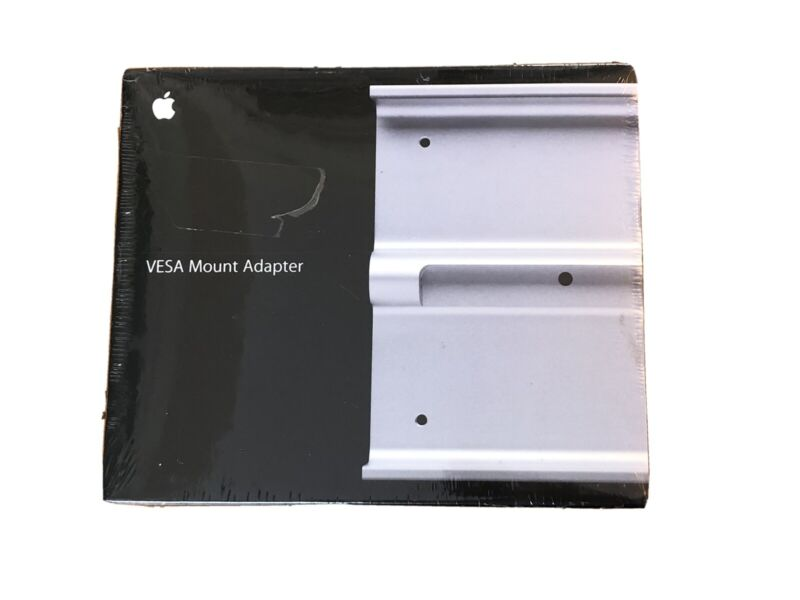 NEW SEALED Genuine OEM Apple MC434ZM/A VESA Mount Adapter iMac Cinema Display