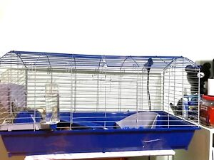 Large Cag, foods and supplies for Guinea pig or Rabbit