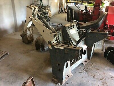 Bobcat 709 Backhoe Skidsteer Attachment Quick Attach With Extra 20 Bucket