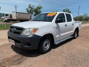 2006 Toyota Hilux Workmate Dual Cab. LOW KM! Holtze Litchfield Area Preview