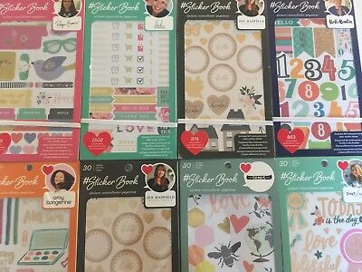 Book Craft (NEW American Crafts 30 Sheet Stickers Book You)