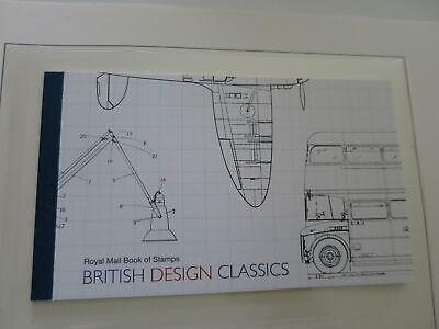 GREAT BRITAIN 2012 PRESTIGE BOOKLET  British Design below facial/di752