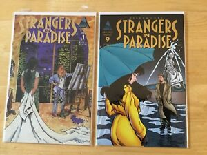 TERRY MOORE STRANGERS IN PARADISE COMICS & TRADE PAPERBACK