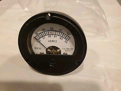 55-65 60 Hz Hertz Frequency Gauge Meter Mep 831a 016b 531a Militarygenerator